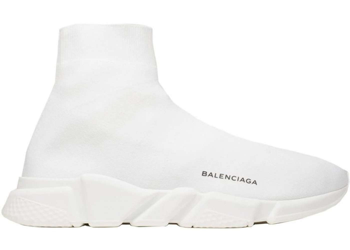 balenciaga all white