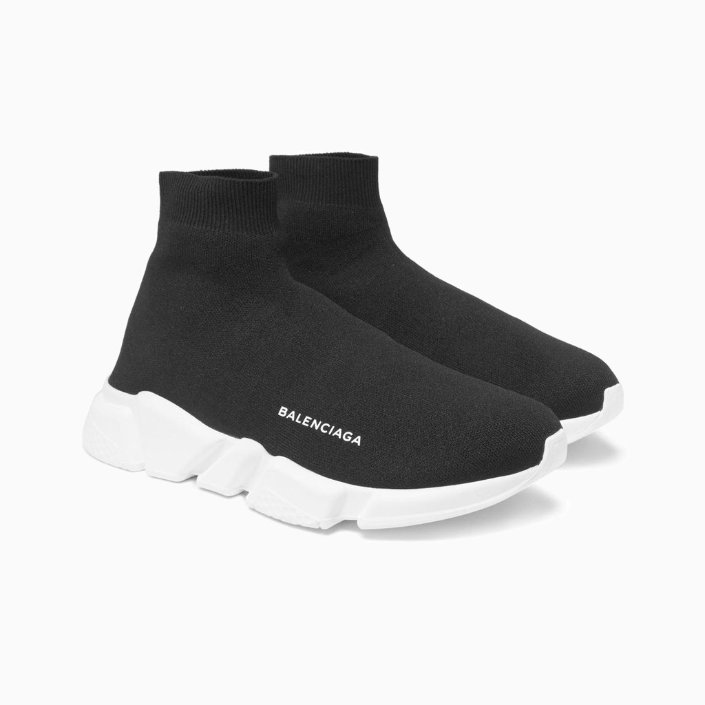 balenciaga black and white