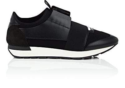 balenciaga black runners