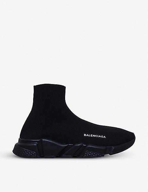 balenciaga black shoes