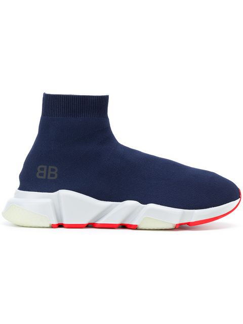 balenciaga blue sneakers