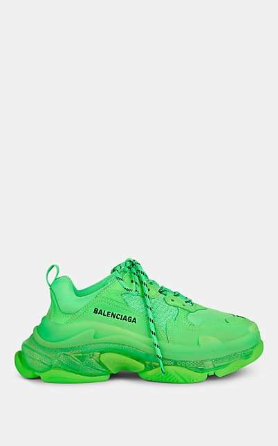 balenciaga green shoes