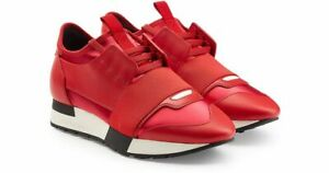 balenciaga runners red