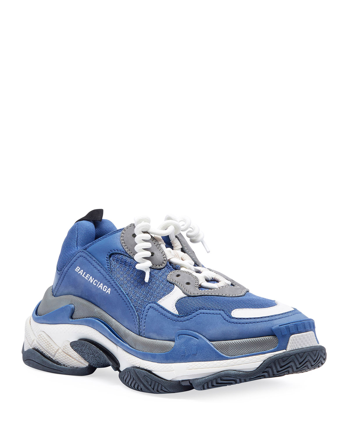 balenciaga sneakers blue