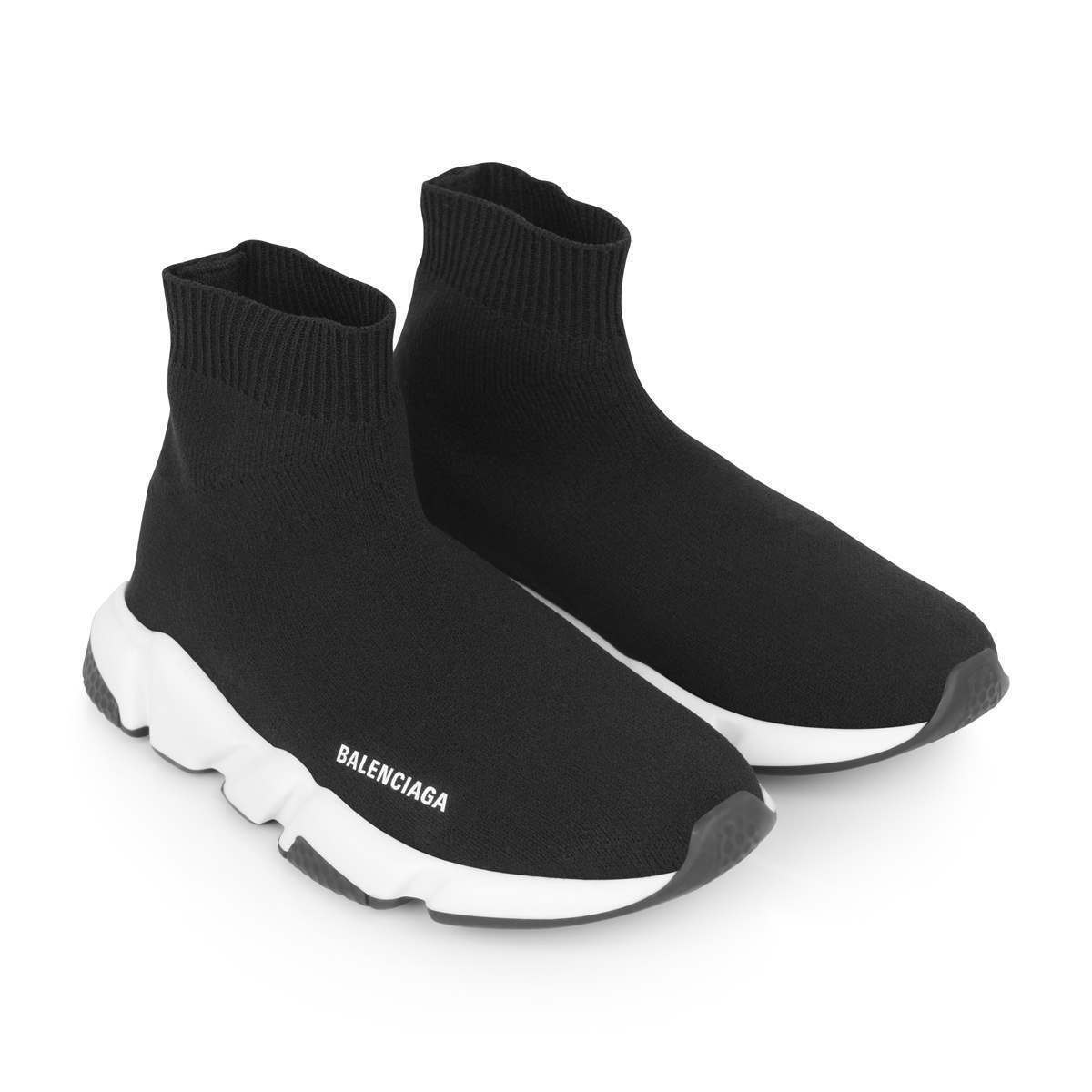 balenciaga white and black