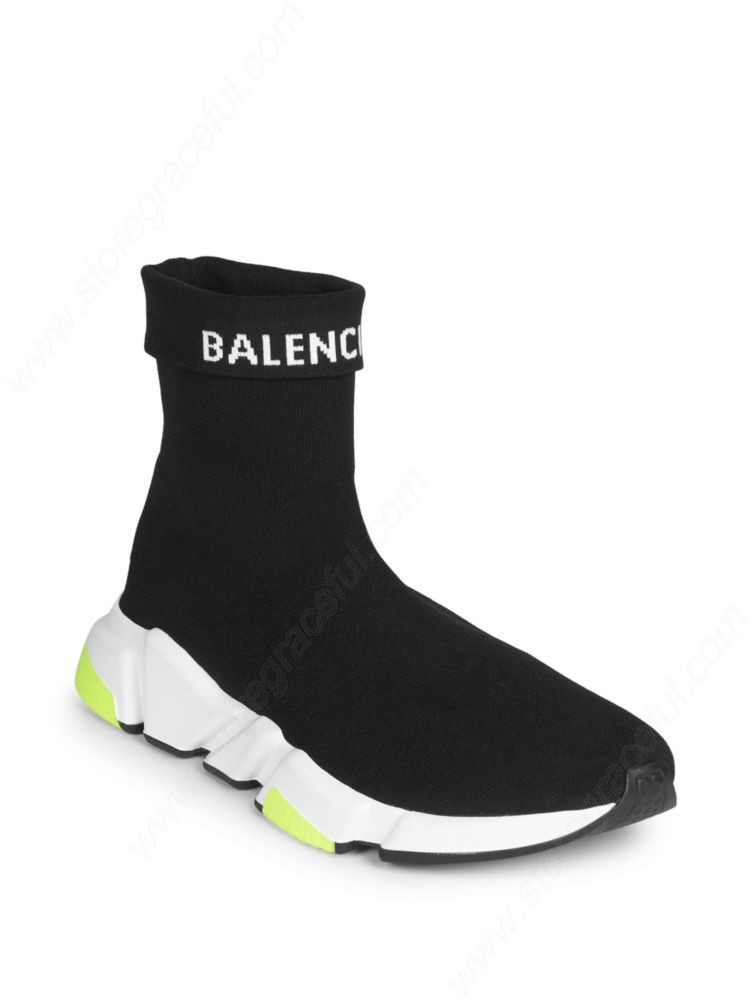 black and white balenciaga