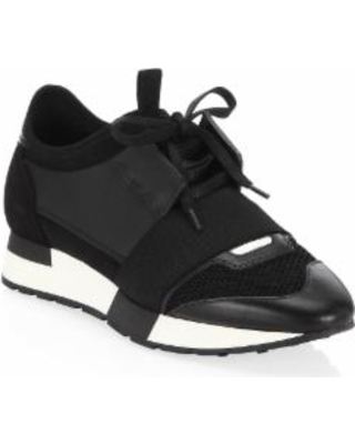 black balenciaga runners