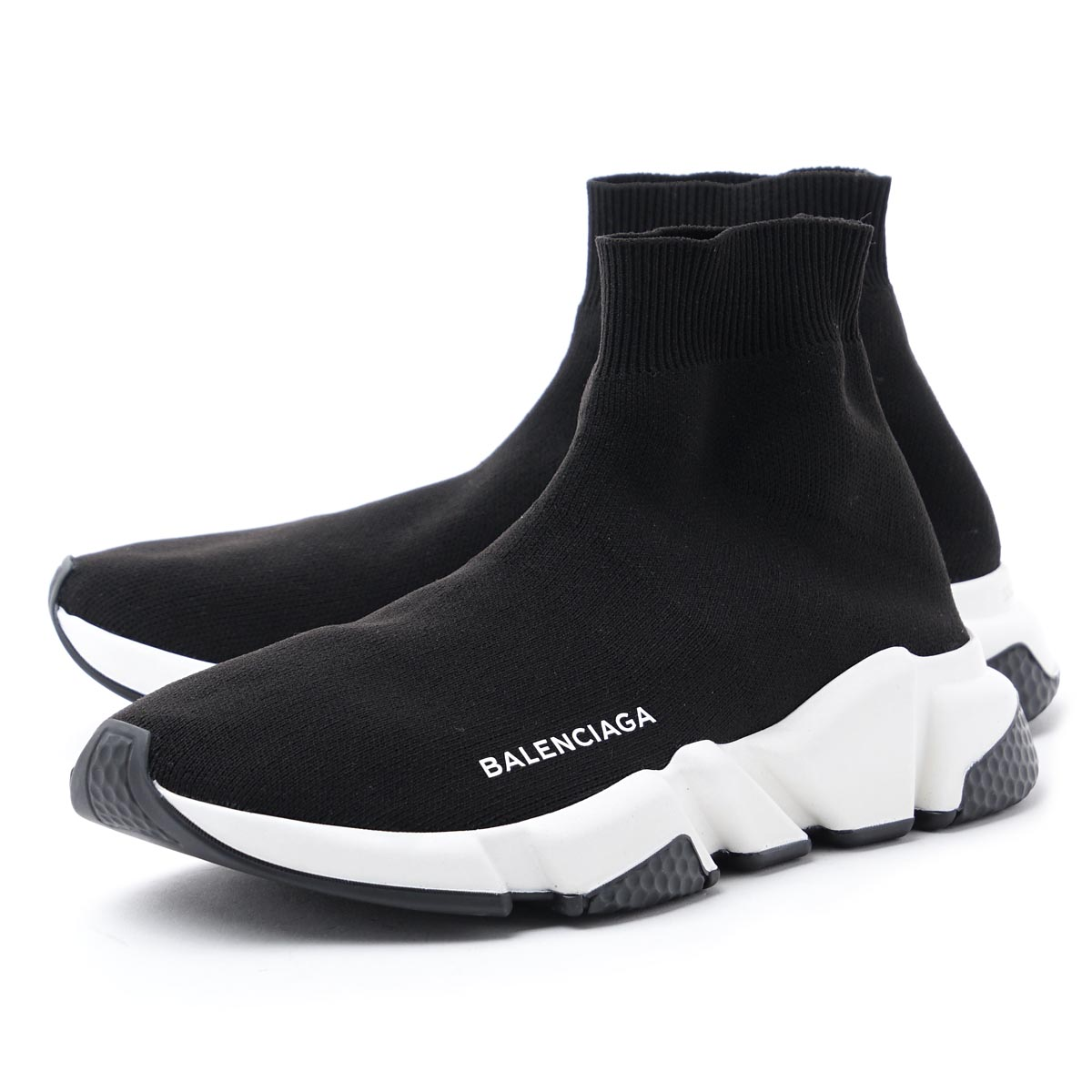 black balenciaga sneakers