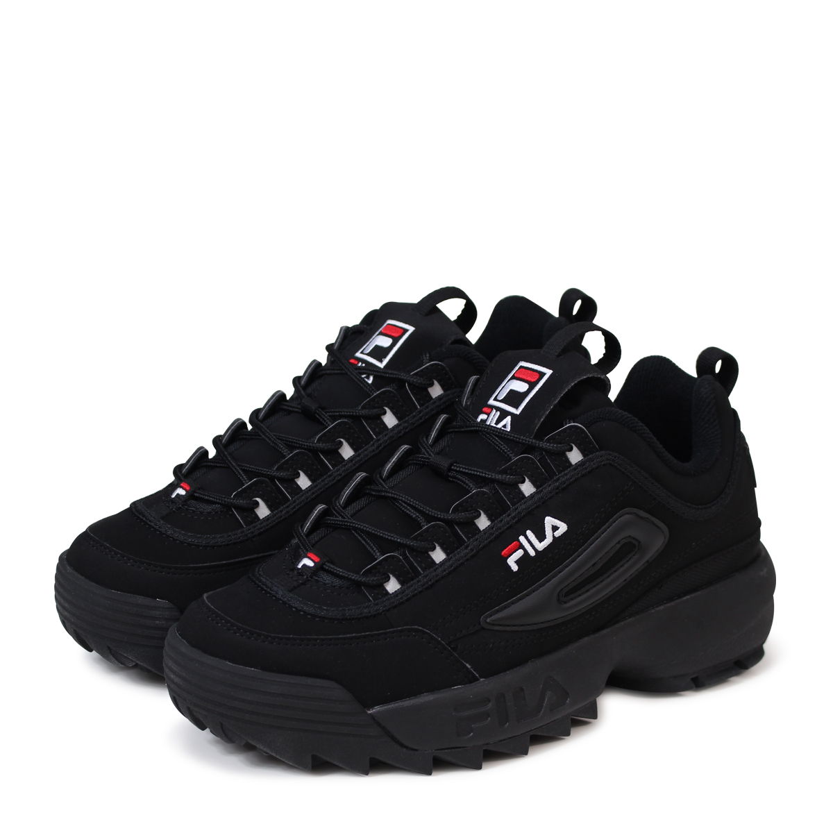 Black Filas Sneakers : Balenciaga & FILA Shoes for Men