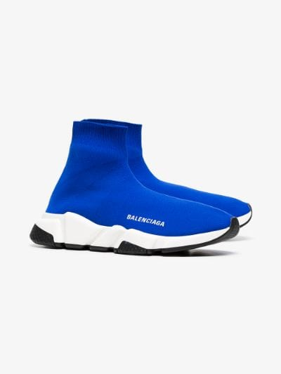 blue balenciaga sneakers