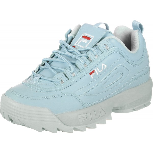 blue filas shoes