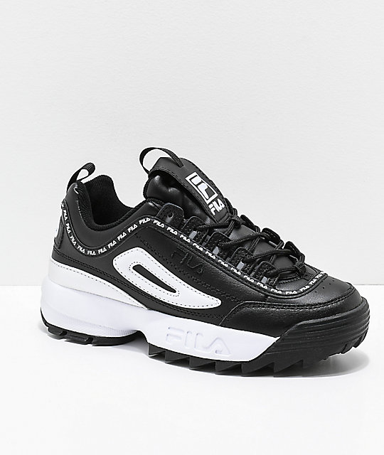 fila black disruptor