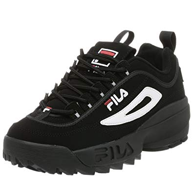 fila disruptor 2 black