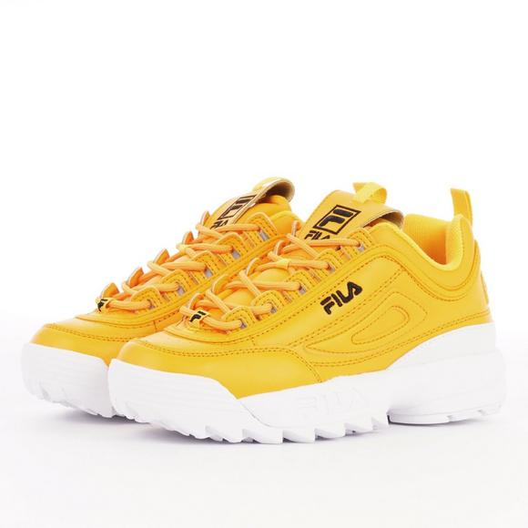 fila disruptor 2 yellow