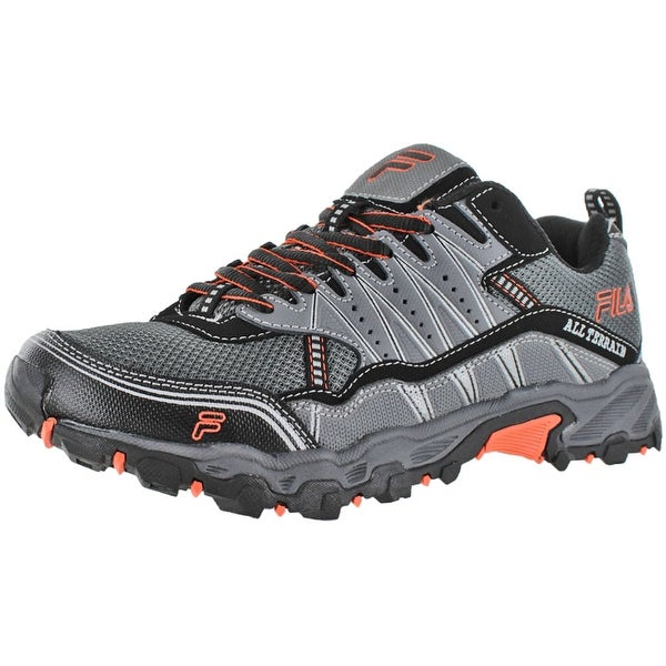 fila tractile men's trail running shoes