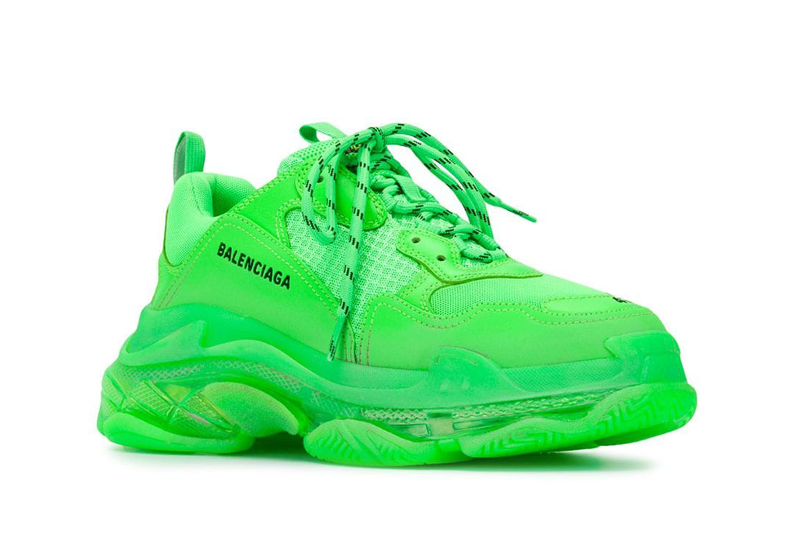 lime green balenciaga
