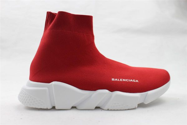red balenciaga shoes