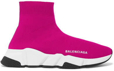 red balenciaga sneakers