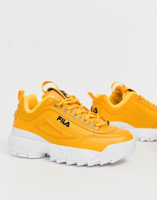 yellow fila disruptor