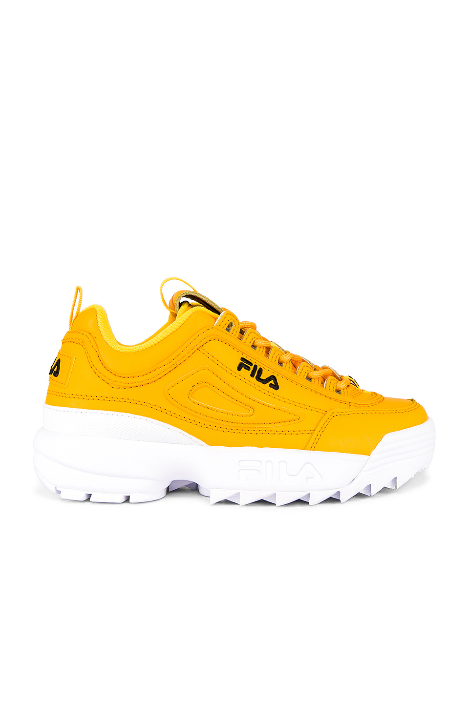 yellow fila disruptors